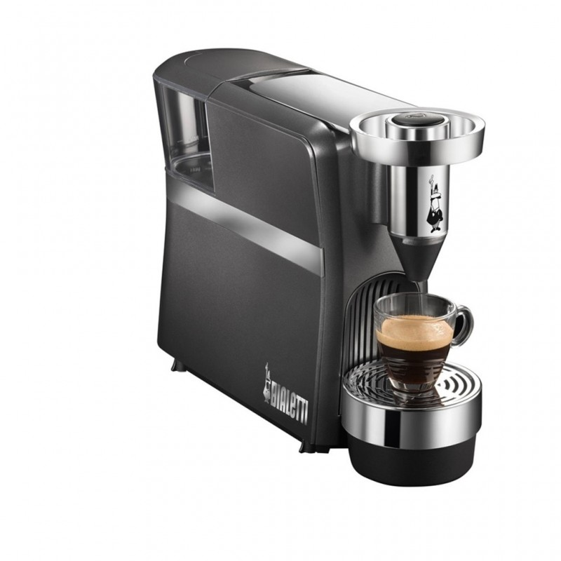 machine caf capsule 1250 watts noir bialetti diva. Black Bedroom Furniture Sets. Home Design Ideas