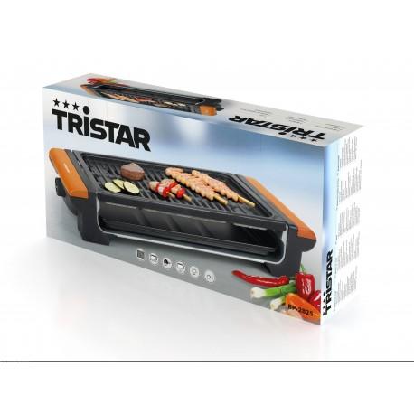 Tristar BP-2825 - Grill plaque de cuisson aluminium - Poignées en bois