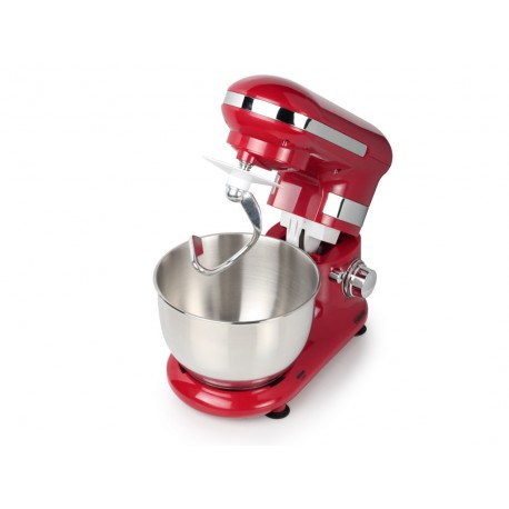 Robot pétrin rouge - 4L - 600 Watts - Tristar MX-4170