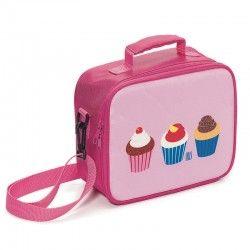 Sac a goûter isotherme pour enfant Thème cupcakes