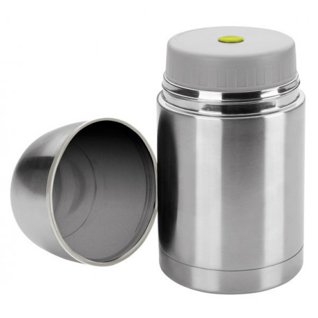 Bouteille isotherme pour aliments solides inox 600 ml