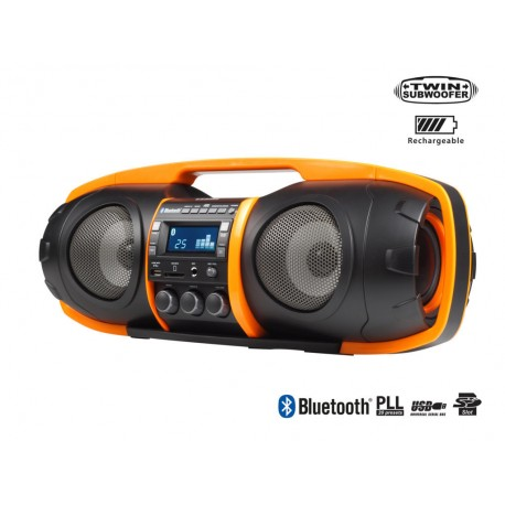 Super Beatblaster (Radio - MP3 - Bluetooth) - Audiosonic RD-1549