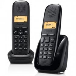 Téléphone fixe sans fil DUO sans répondeur - Gigaset A150DUO