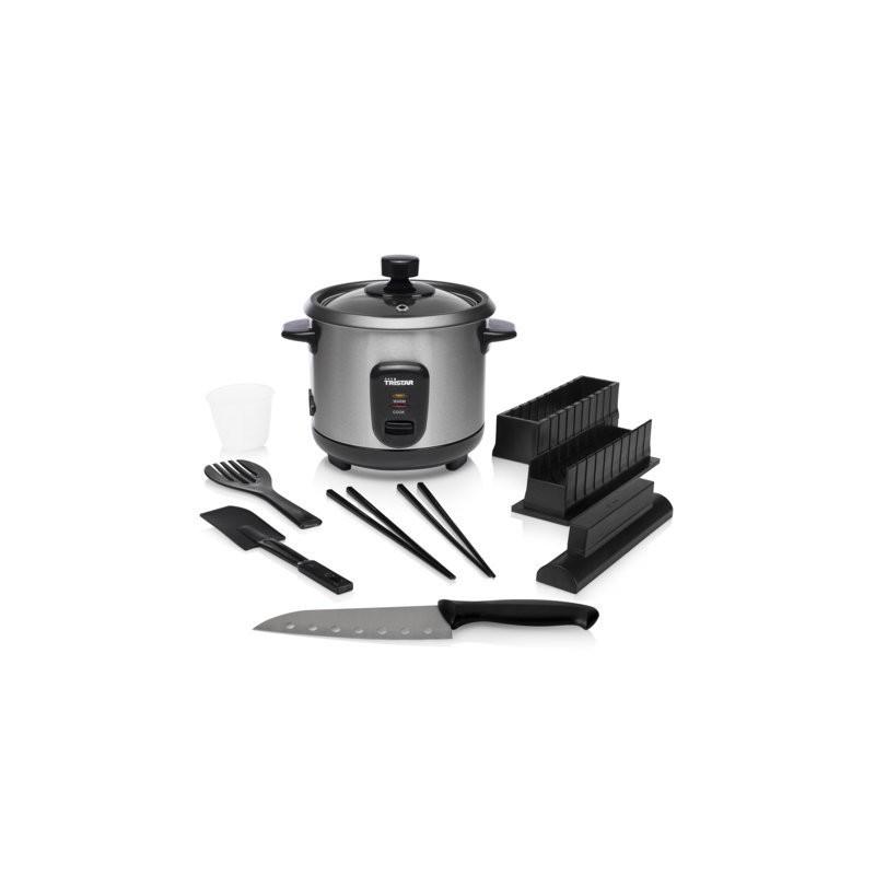 cuiseur riz avec kit sushi en inox tristar rk 6140. Black Bedroom Furniture Sets. Home Design Ideas