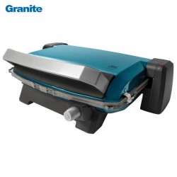 Panini maker granite Turquoise - 1800 Watts - Blue House