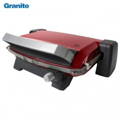 Granite Grille sandwich maker 6 pieces Rouge - 1800 Watts - Blue House