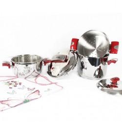 Batterie de cuisine NOBLESSE 7 pièces en inox