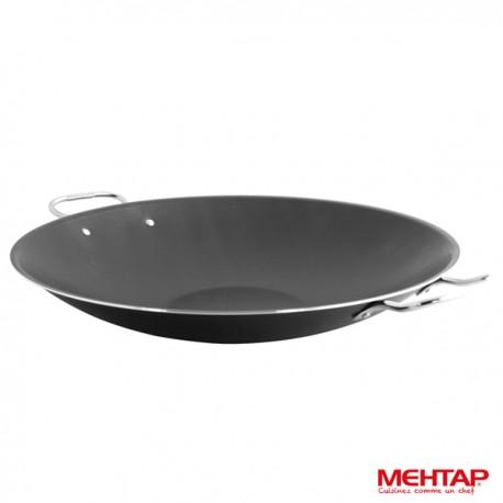 Sauteuse téflon noir diamètre 34 cm - Mehtap KS34