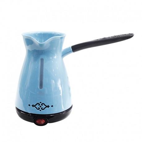 Cafetière électrique Turquoise 750 Watts - Blue House