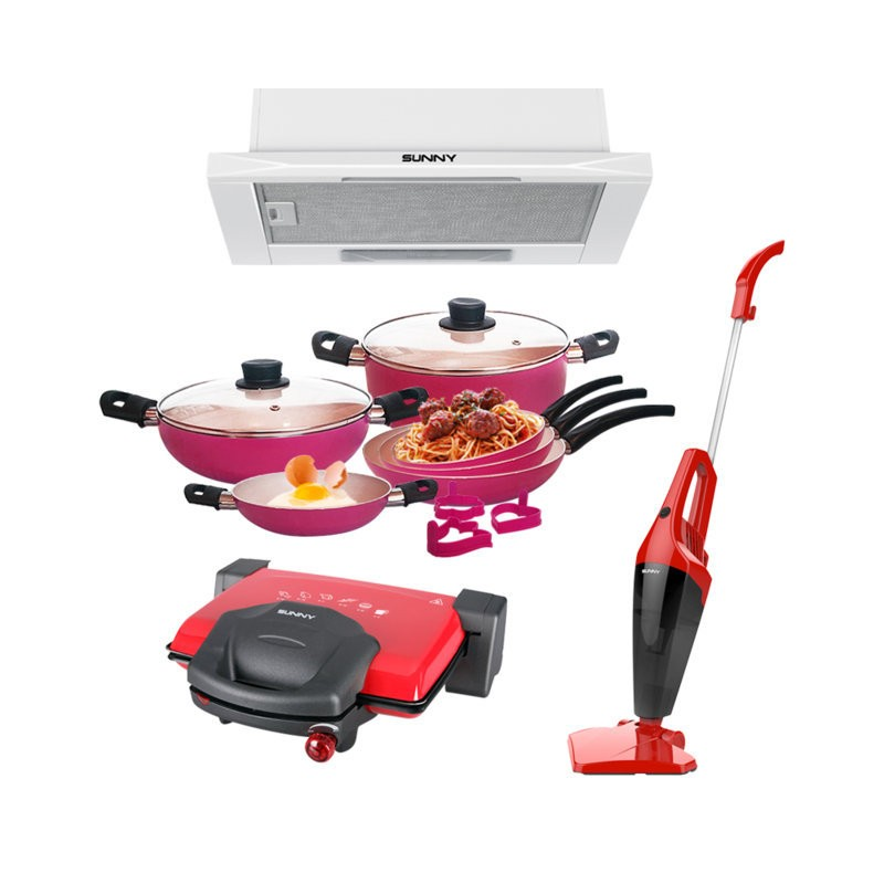 Pack sunny s lection appareils electrom nager et ustensile cuisine - Appareil electromenager cuisine ...