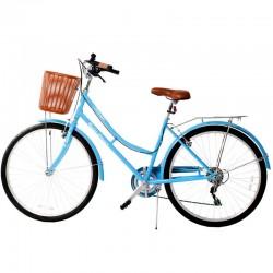 Bicyclette de ville 26 pouces 6V Bleu - Rodeo 6026 C6V