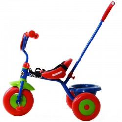 Tricycle baby avec canne directionelle