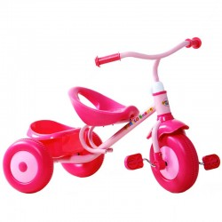 Tricycle Plastique Hello Baby - Rodeo T11214