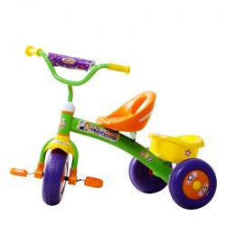 Tricycle Plastique Courbe Fly Couleur orange - Rodeo T11114