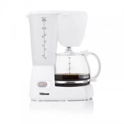 Cafetière 800 Watts 12 tasses blanc - Tristar KZ-1232