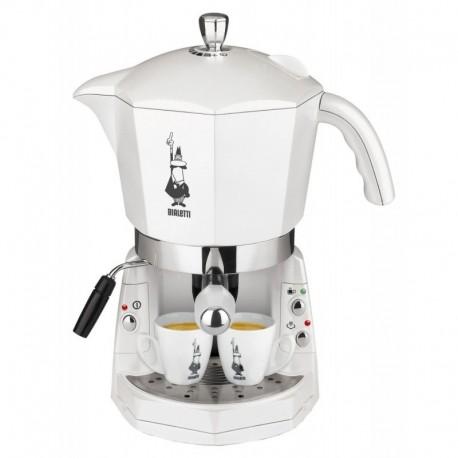 Cafetière électrique à capsule blanc - Mokona Bialetti
