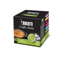 Boîte de 16 capsules café Deka - Bialetti