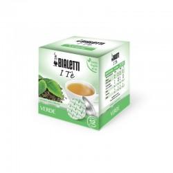 Boîte de 12 capsules thé vert - Bialetti