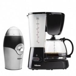 Pack café : cafétiére + moulin à café