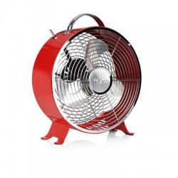 Ventilateur rétro en métal Ø 25 cm rouge - Tristar VE-5963