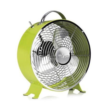 Ventilateur rétro en métal Ø 25 cm vert - Tristar VE-5965