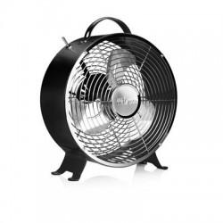 Ventilateur rétro en métal Ø 25 cm noir - Tristar VE-5966