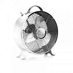 Ventilateur rétro en métal Ø 25 cm blanc - Tristar VE-5967