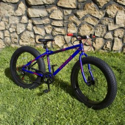 Bicyclette Fat Bike Mirage 24 Pouces Blue