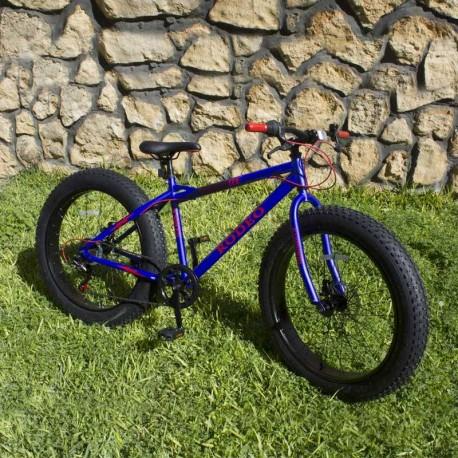 Bicyclette Fat Bike Mirage 24 Pouces Blue