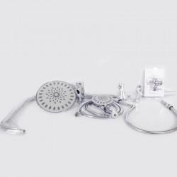 Ensemble de douche ronde en plastique ABS - LY-809/S
