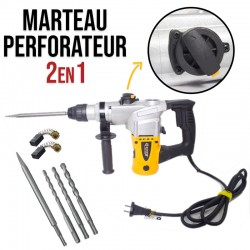 Marteau perforateur 1050W 26mm Coofix CF-RH003