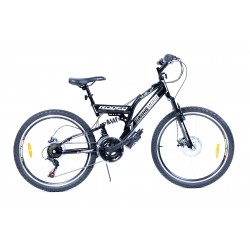 Bicyclette VTT 24 pouces BLACK DAWN - Rodeo-6024 C21