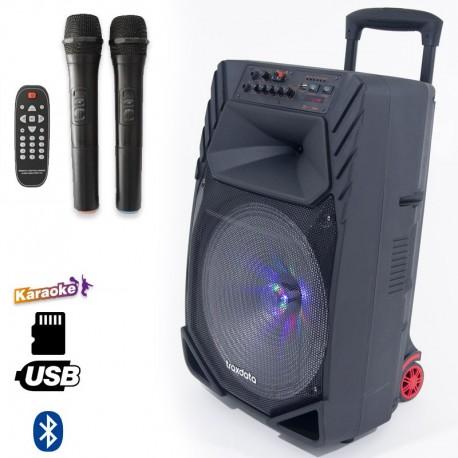Haut parleur mobile avec Batterie ,Bluetooth et micro sans fil - Traxdata TRX-019