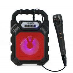 """Mini Haut-parleur 4,5"""" mobile avec Bluetooth et micro  - karaokid"""