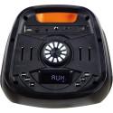 Haut-parleur 2*6″ Round Light mobile avec Bluetooth et micro sans fil - Traxdata TRX-80