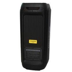 Haut-parleur 2*8″ Round Light mobile avec Bluetooth et micro sans fil - Traxdata TRX-90