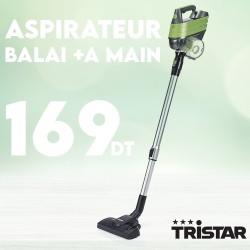 Aspirateur balai et à main 400 Watts - Tristar SZ-1918GB