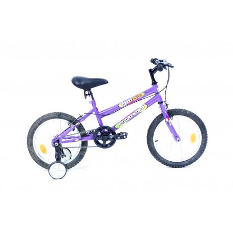 Vélo VTT 16 pouces eco fille - Rodeo-6016 PF