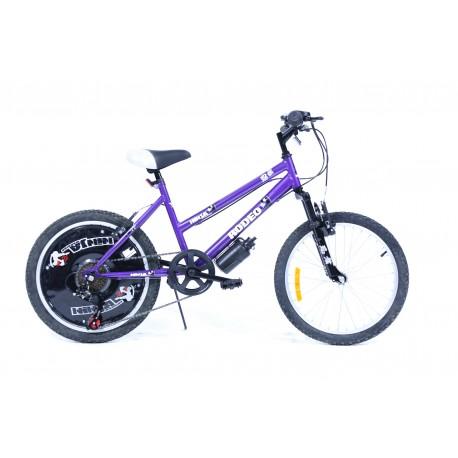 Vélo VTT 20 pouces NINJA fille - Rodeo-6020 6VF